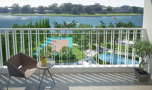 Căn hộ resort mặt tiền sông: Sức hấp dẫn khó chối từ